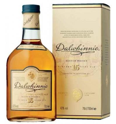 Dalwhinnie highland 15 års 0,70 ltr, 43%