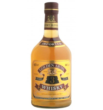Golden Arms 3 Years 40% 0,7 ltr.