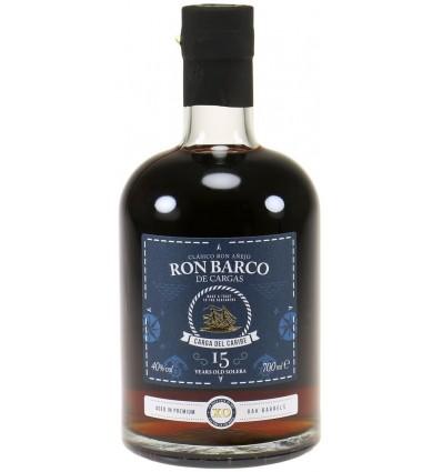 Ron Barco de Cargas 15 Yo 40% 0.7 liter
