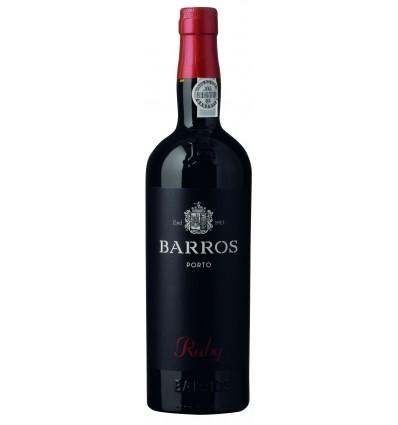 Barros Ruby Port 0,75 Ltr.