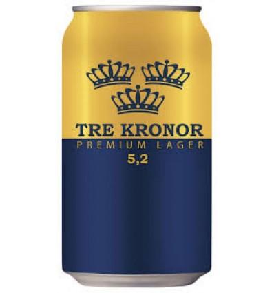 Tre Kronor Premium Lager 24x0,33 ltr 5,2%