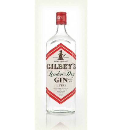 Gilbeys Special Dry Gin 1 Liter, 47.5%