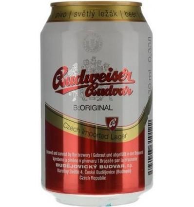 Budweiser Budvar 24 x 0.33l 5%