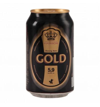 Harboe Beer Gold 5,9% 24x0,33 ltr.