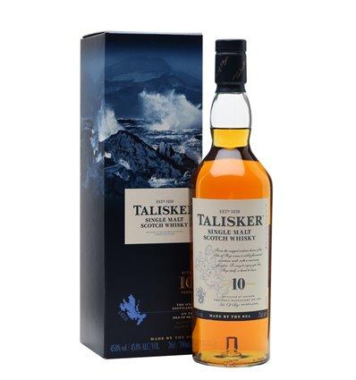 Talisker 10 YO Single Malt whisky skye 45,8%