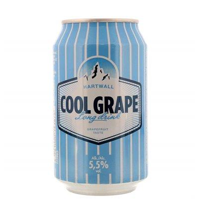 Hartwall Cool Grape Long Drink 5,5% 24 x 0,33 ltr.