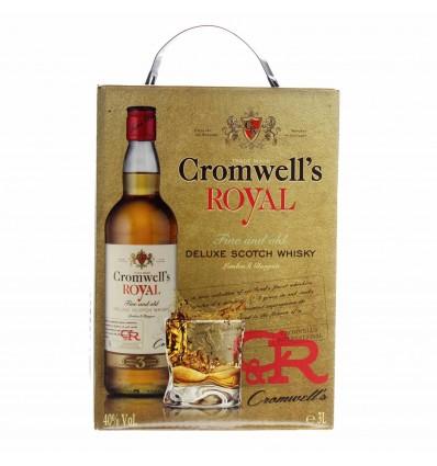 Cromwell´s Royal Scotch Whisky 40% 3 ltr.