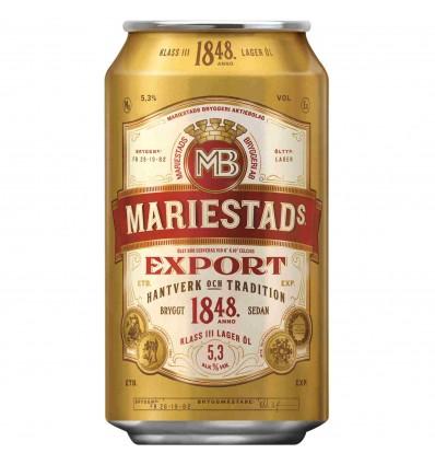 Mariestads Export 5,3% vol. 24x0,33ltr.